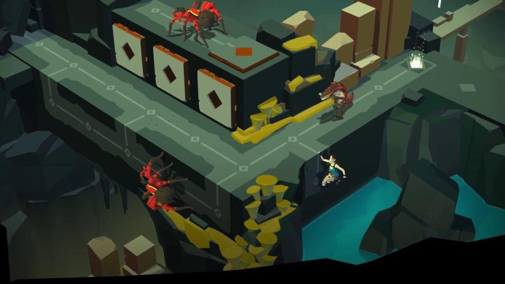 descargar lara croft go para Android gratis 3