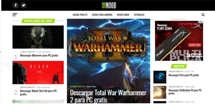 Cual Es La Mejor Pagina Para Descargar Juegos Para Pc Nosoynoob